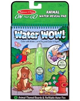 Чарівна водна розмальовка для малюків Melissa & Doug Тварини (MD15376)