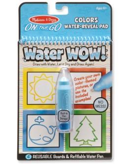 Волшебная водная раскраска для малышей Melissa & Doug Цвета и формы (MD19444)