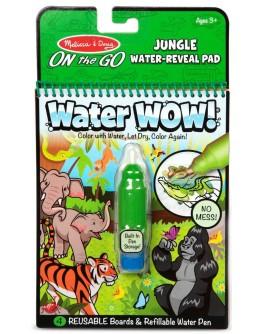 Чарівна водна розмальовка для малюків Melissa & Doug Джунглі (MD30176)