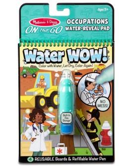 Волшебная водная раскраска для малышей Melissa & Doug Профессии (MD30180)