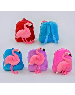 Рюкзак детский мягкий Фламинго (С 33967)