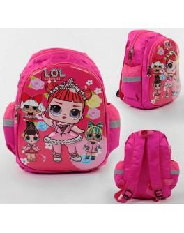 Рюкзак дошкольный L.O.L. Surprise 1 отделение, 1 карман, мягкая спинка, 3D рисунок (С 43697)