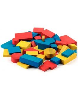 Логічні блоки Дьенеша, 48 деталей в картонній коробці, Komarovtoys