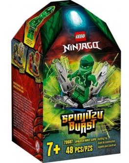 Конструктор LEGO NINJAGO Турбо спін-джитсу Ллойд (70687)