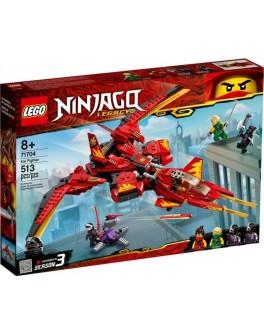 Конструктор LEGO NINJAGO Винищувач Кая (71704)