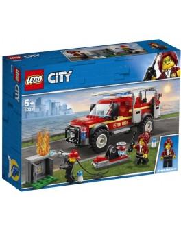 Конструктор LEGO City Вантажівка начальниці пожежної частини (60231)