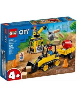 Конструктор LEGO City Будівельний бульдозер (60252)