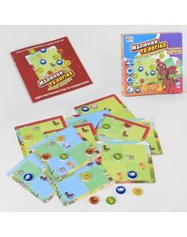 Гра настільна головоломка Fun Game Малюнки та логіка - Пригоди на фермі (UKB-B 0031)