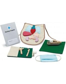 Дерев'яна іграшка Plan Toys Набір хірурга (3703)