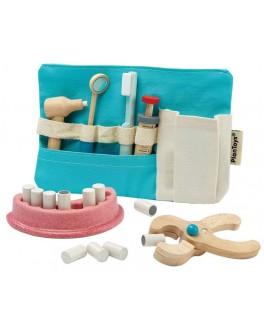 Дерев'яна іграшка Plan Toys Набір зубного лікаря (3493)