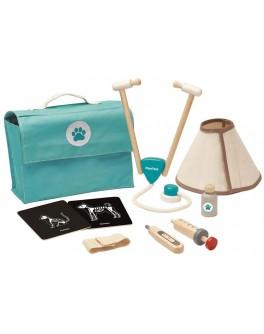 Дерев'яна іграшка Plan Toys Набір ветеринара (3490)