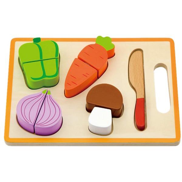 монтессори набор повара овощи Viga Toys 50979
