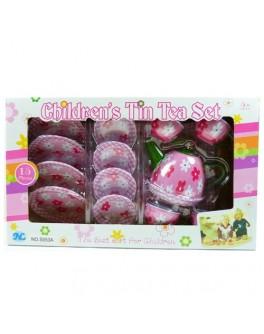 Чайный сервиз Розовый цветочек, 15 предметов (S053A) - ves S053A