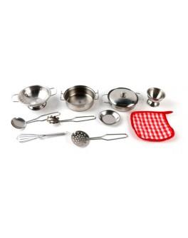 Игровой набор посуды Shantou Gepai 11 предметов (8628-10) - ves 8628-10