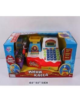Детский кассовый аппарат, микрофон, сканер, весы, чек 7162 - ves 7162