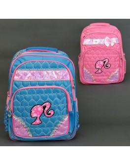 Рюкзак школьный 666/555-472 с ортопедической спинкой