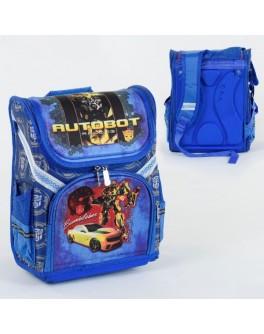 Рюкзак шкільний каркасний Автобот Бамблбі 1 відділення, 3 кишені, спинка ортопедичне (С 36183)
