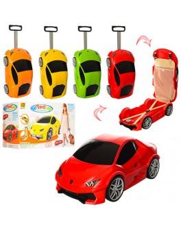 Детский чемодан на колесиках Машинка Купе - mpl MK 1214