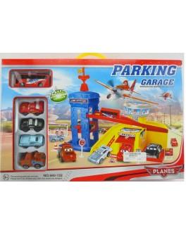 "Паркинг ""Литачки"", автобус, 4 машинки"