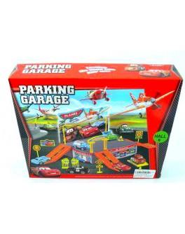 """Паркинг """"Тачки и Летачки"""", 25 х 5 х 21 см"""