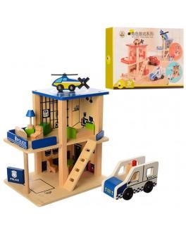 Деревянная игра Полицейский участок (MD 1059)