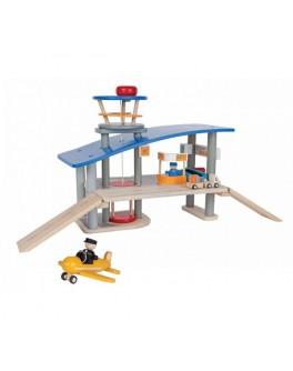 Деревянная игрушка Аэропорт PlanToys (6226)