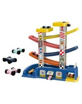 Швидкісний спуск гоночний трек Car Ramp Racer 7 ярусів, 6 машинок (6606)