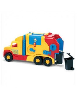 Мусоровоз маленький Super Truck 59х28 см Wader (36580)