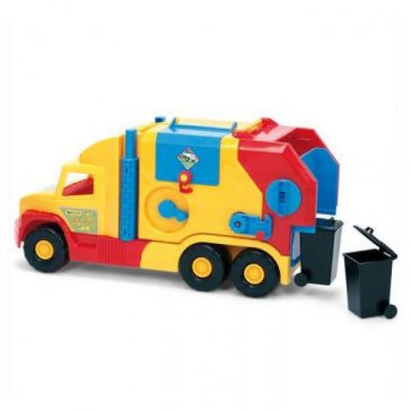 мусоровоз маленький Super Truck ТМ Wader VES 36580