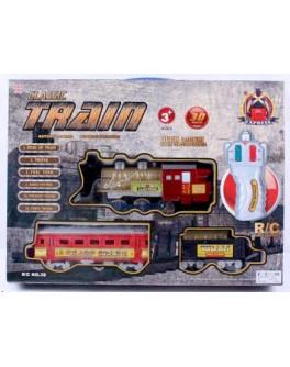 Железная дорога на радиоуправлении со световыми эффектами