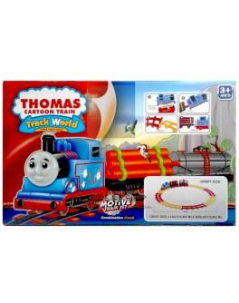 "Железная дорога ""Паровозик Томас"", музыка, свет, 46 х 46 см."