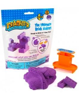 Набор нано песок Mad Mattr фиолетовый, формы-брики, Waba Fun