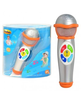 Развивающая игрушка WinFun Микрофон (2052-NL)
