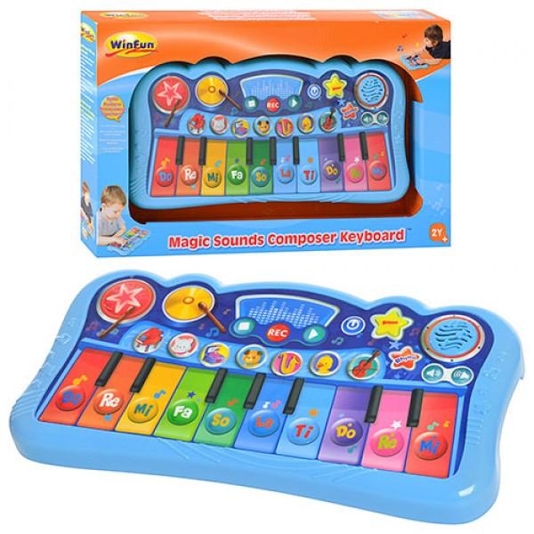 Детское пианино WinFun Волшебные звуки (2079-NL)