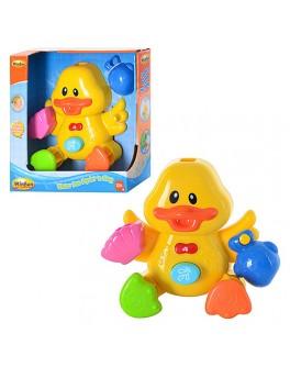 Игрушка для ванной WinFun Музыкальный утенок (7108-NL)  - mpl 7108-NL