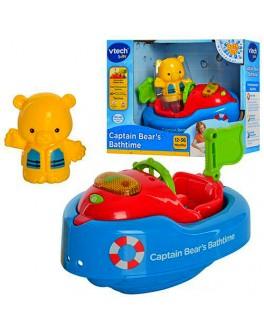 "Катер ""Капитан Мишутка"", игрушка для купания, свет, звук - mpl 151703"