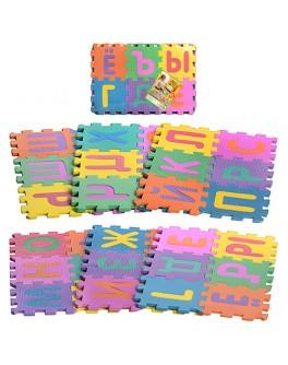 Детский коврик мозаика Алфавит русский (M 0378) - mpl M 0378