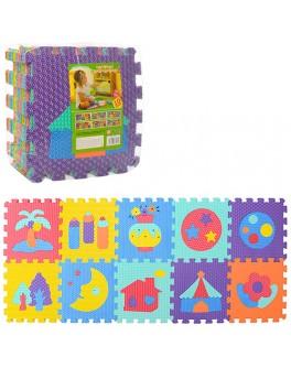 Детский коврик мозаика Мир вокруг нас (M 3518)