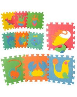 Игровой коврик мозаика Морские животные (M 0388) - mpl M 0388