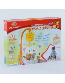 Музична карусель мобіль з підвісними іграшками (6919)