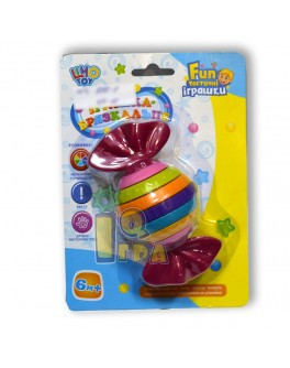Погремушка-трещотка Конфетка, Limo Toy - mpl 939-1