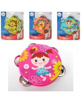 Погремушка Бубен Huile Toys  - mpl 3102B