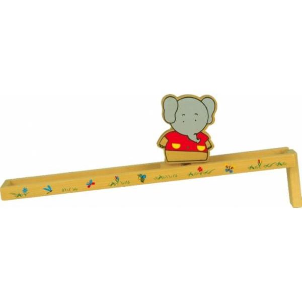 Саморушна іграшка з дерева Гірка Слоник, МДІ - Der 148