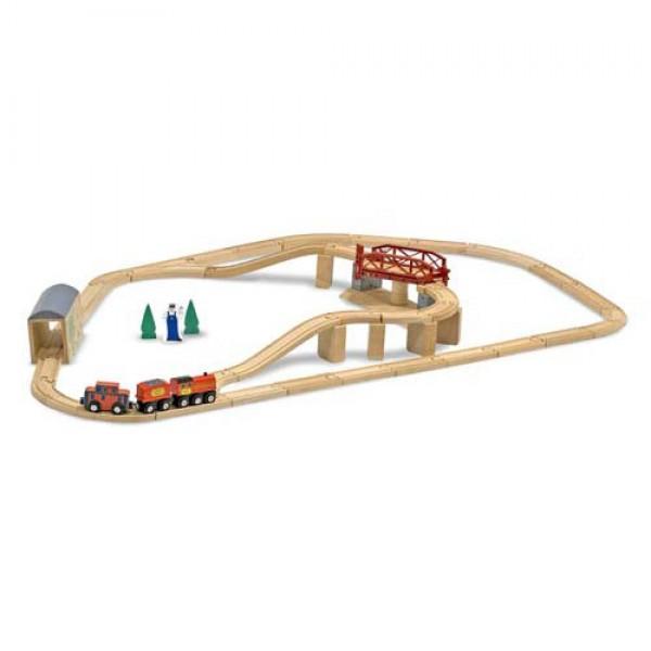 деревянная железная дорога MD 704