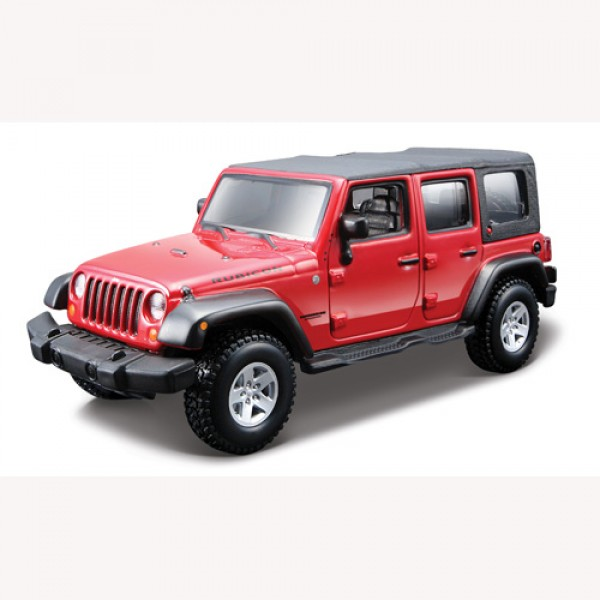 фото Конструктор модели автомобиля JEEP WRANGLER UNLIMITED RUBICON  (масштаб 1:32) - KDS 18-45121