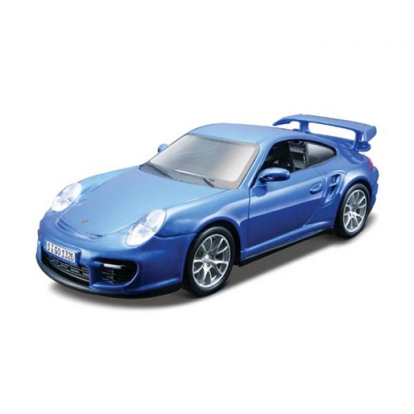 фото Конструктор модели автомобиля PORSCHE 911 GT2 (масштаб 1:32) - KDS 18-45125