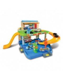 Игровой набор - ГАРАЖ (2 уровня, 1 машинка 1:43) - KDS 18-30039