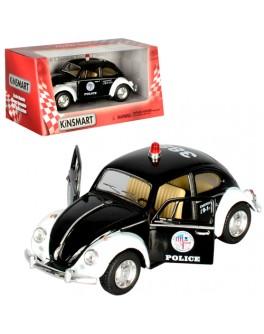 Машинка коллекционная Kinsmart Volkswagen Classical Beetle Полиция (KT 5057 РW) - mpl KT 5057 РW