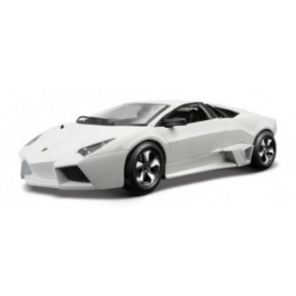 LAMBORGHINI REVENTON (ассорти матовый белый, серый металлик 1:24) Автомодель уценена! Скидка 20%