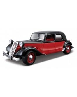 Автомодель - CITROEN 15 CV TA (1938) (ассорти черный, красно-черный, 1:24) Цена снижена!